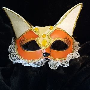 Accessories - Mardi Gras fox mask